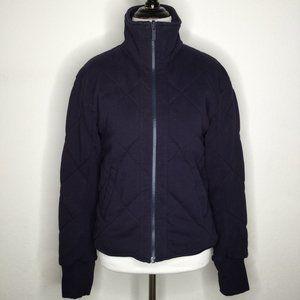 Lululemon zip Jacket sz 6 Navy